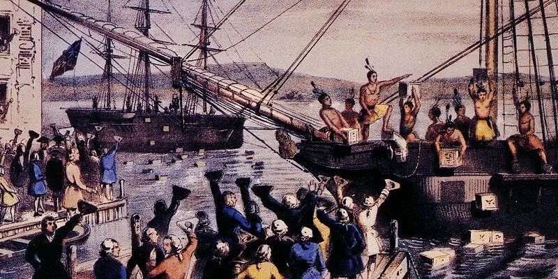 a history of the boston tea party in the revolutionary war In which john green teaches you about the roots of the american revolution the revolution did not start on july 4, 1776 the revolutionary war.